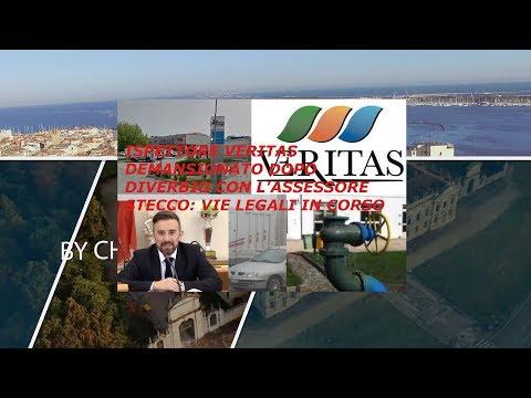 TG AZZURRA: ISPETTORE VERITAS DEMANSIONATO DOPO DIVERBIO CON L'ASSESSORE STECCO - nr 155, 10 luglio