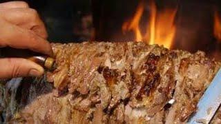 Erzurum Cağ kebabı - Cağ kebabı nasıl yapılır - Erzurum yemekleri
