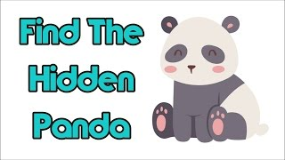 No One Will Find The Hidden Panda In Under 10 Seconds!