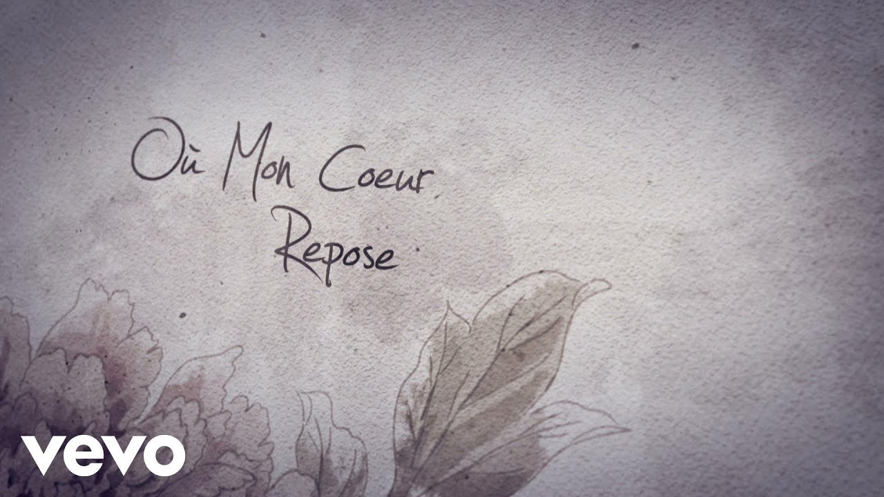C cile corbel jardin secret lyrics video youtube for Jardin secret