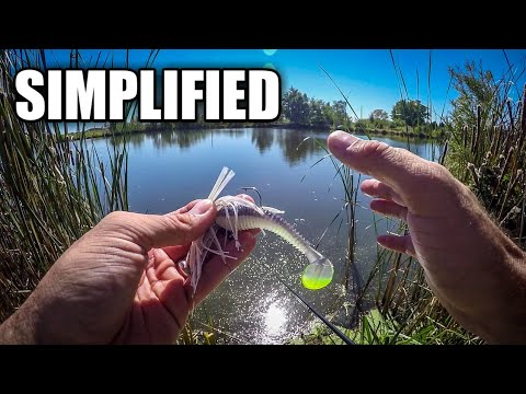 How To Fish A Swim Jig (SIMPLE & EFFECTIVE Tactic For Bass Fishing Beginners) Pt. 2 Of 2