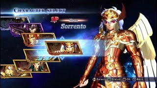 Saint Seiya: Sanctuary Battle All Characters (Including DLC) [PS3]