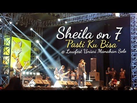 Sheila on 7 - PASTI KU BISA Live @ Lawfest Unisri 2018 Stadion Manahan Solo