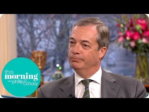 Nigel Farage on Parliament's Historic Brexit Vote | This Morning