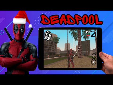 GTA San Andreas Android Deadpool Mod