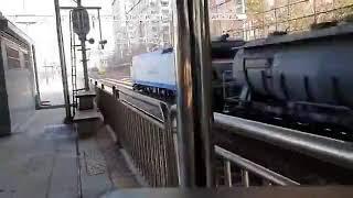 코레일 8531호 시멘트 화물열차 신도림역 통과