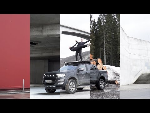 All the world's a stage  | FORD Ranger Wildtrak 2018 | F&B Acrobatics