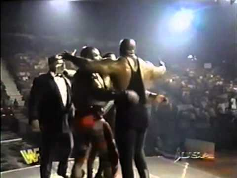 Ahmed johnson vs nation of domination