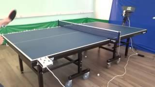 видео Тренажер для настольного тенниса Автомат