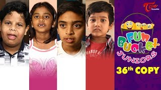 Fun Bucket JUNIORS | Episode 36 | Kids Funny Videos | Comedy Web Series | TeluguOne