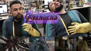 """THIS HYPED ME UP! Marvel Studios' Avengers: Endgame   """"To the End"""" REACTION! REACTING TO ENDGAME"""