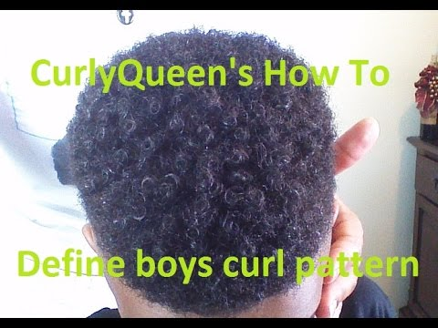 How To Define Boys Natural Curl Pattern YouTube Unique Natural Hair Curl Pattern