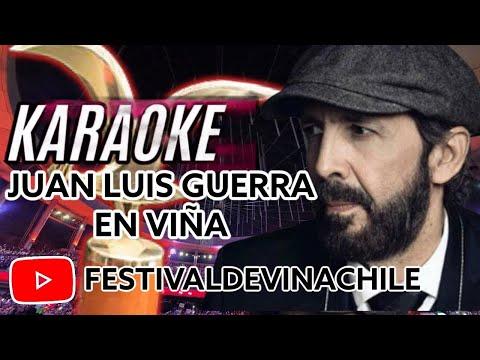 Juan Luis Guerra - La Bilirrubina - Festival de Viña 1991// ESTILO KARAOKE