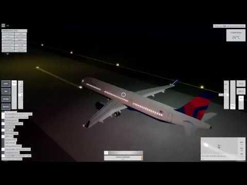 DELTA A320 TAKE OFF VFS ROBLOX 2018