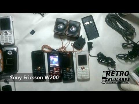 SONY ERICSSON W200 Colección Celulares Clásicos, Antiguos, Viejos Old Cell Phones RETRO CELULARES