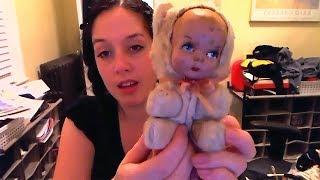 I love creepy dolls!