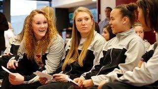 CFTV: Twister Sisters talk NCAA draw, playing Gonzaga