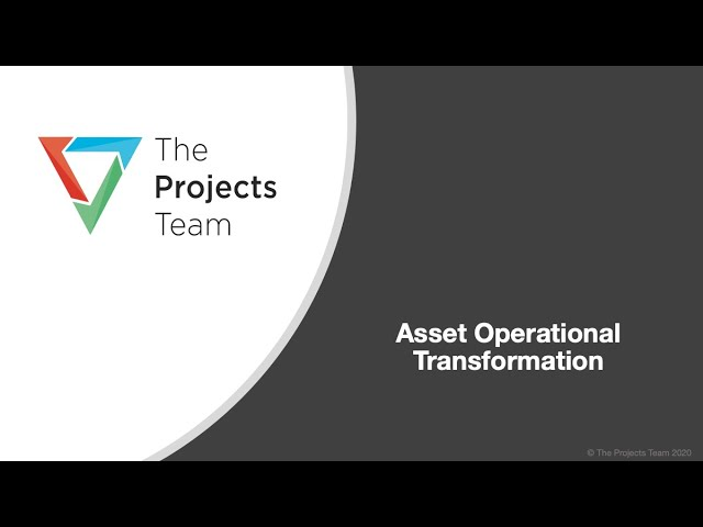 Asset Operation Continuous Improvement Via Digitalisation & Functional Change Management