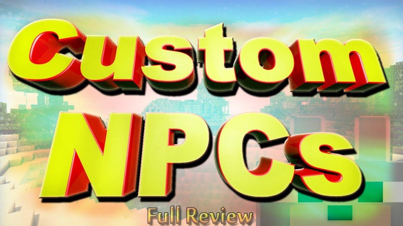 Scmowns Custom Npcs 1 5 1 Minecraft Full Review And