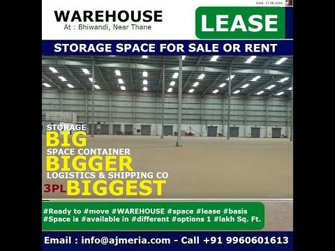 Ready Warehouse Space Available for Industrial Transportation, custom bonded, document storage