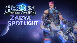 Heroes of the Storm - Official Zarya Spotlight