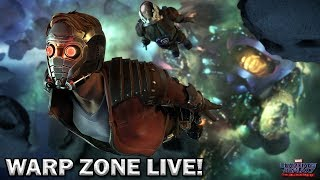 Telltale's Guardians of the Galaxy FINALE! | LIVE w/ The Warp Zone | PS4