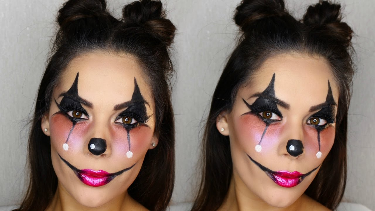 Halloween Makeup Easy Clown.Clown Makeup Halloween Look Fun Easy Beauty S Big Sister