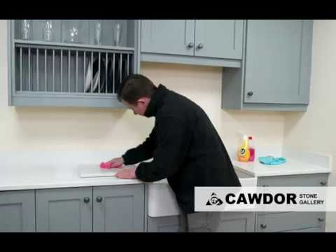 Daily Cleaning Quartz Worktops & Removing Stains