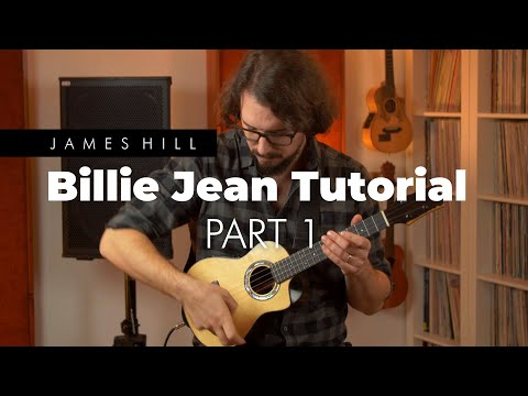 Billie Jean Ukulele Tutorial (Part 1)
