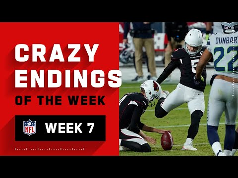 Crazy Endings from Week 7 | NFL 2020 Highlights