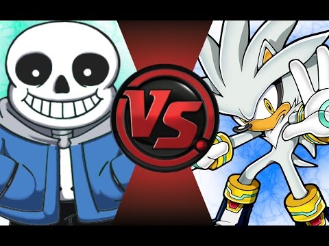 SANS vs SILVER! Cartoon Fight Club Episode 60