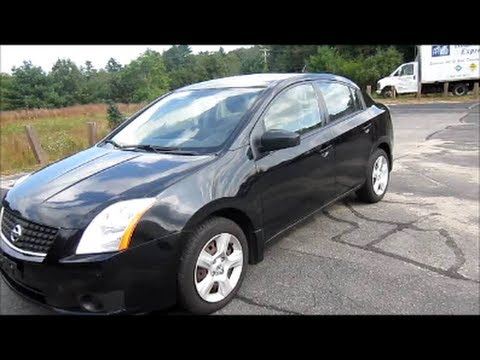 2007 Nissan Sentra 2 0s Black Start Up Engine Amp In Depth