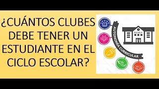 Soy Docente: 2 CLUBES POR ESTUDIANTE (AUTONOMÍA CURRICULAR)