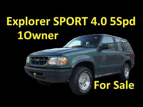 1996 EXPLORER SPORT ~ FOR SALE ~1 OWNER LOW MILE SUV