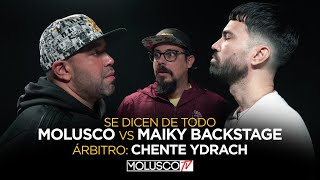 Molusco vs Maiky Backstage ( Se dicen de todo ) Arbitro: Chente Ydrach 🔥🍿