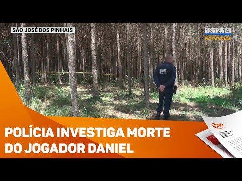 Polícia investiga morte do jogador Daniel - TV SOROCABA/SBT