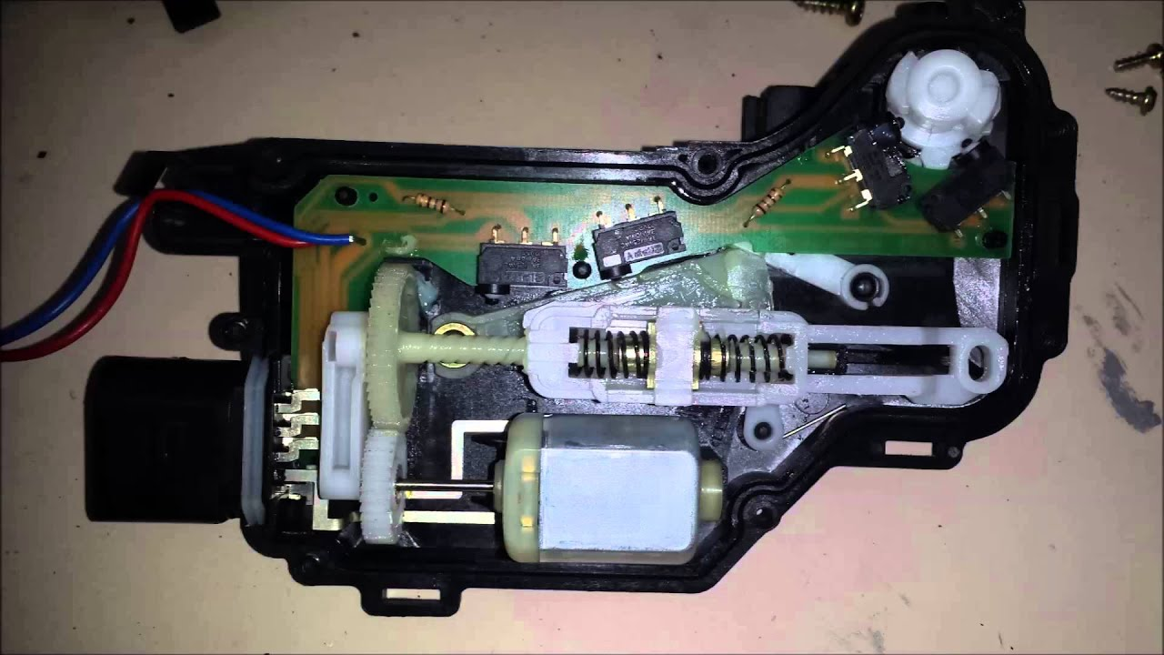 Volkswagen Door Lock Module Issue From Outside Na Dlm