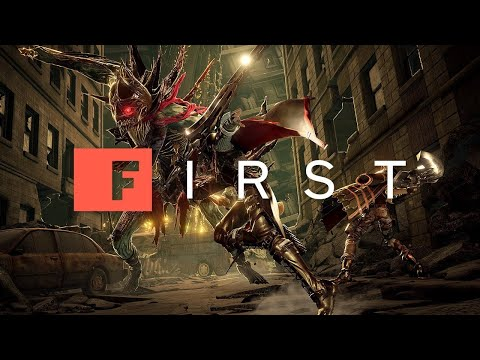 Code Vein: 10 Minutes of Brutal Boss Fight Action - IGN First