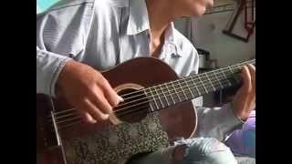 Tập chơi guitar điệu bolero liên khúc buồn  D