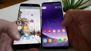 Samsung Galaxy S7 Edge vs Samsung Galaxy S8+ Plus összehasonlitó