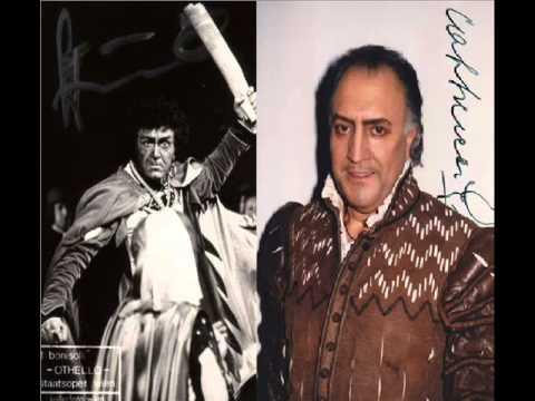 Franco Bonisolli & Piero Cappuccilli in Otello - Giuseppe Verdi ( Si pel ciel )