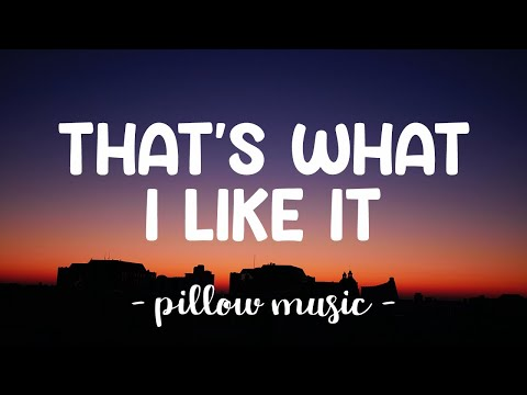 That's What I Like - Bruno Mars (Lyrics) 🎵