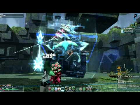 PSO2 Zan is stupid Goronzoran FoFi 0:56