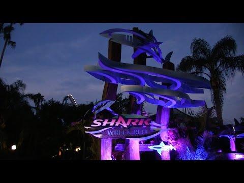 Mako & Shark Wreck Reef Nighttime Tour At SeaWorld Orlando