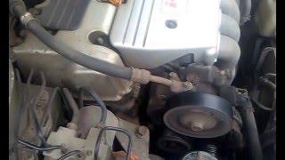 Треск в двигателе