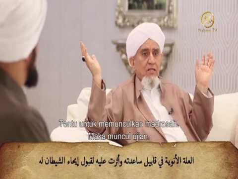 Habib Abu Bakar Al Masyhur ; Analisa ilmiah Qobil & Syetan, Manusia dan fitnah agama & dunia