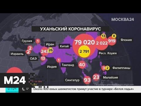 Коронавирус добрался до Литвы и Нидерландов - Москва 24