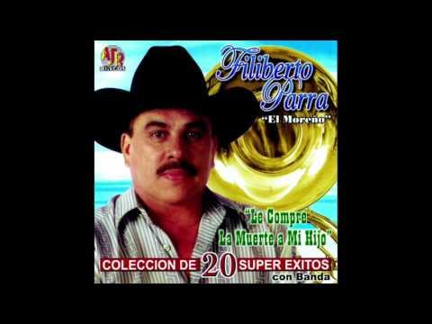 """Filiberto Parra """"El Moreño"""" - Coleccion De 20 Super Exitos (Disco Completo)"""