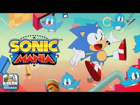 Sonic Mania - Stowaway Aboard the Flying Battery (Xbox One Gameplay)