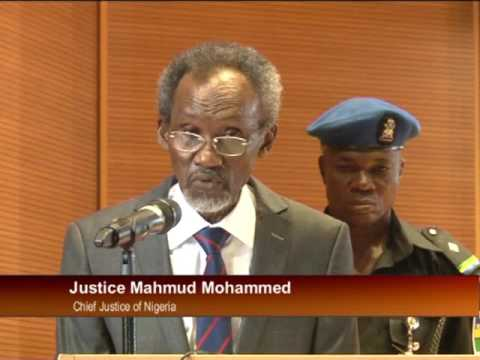 Chief Justice Of Nigeria Opens 2016 Refresher Course